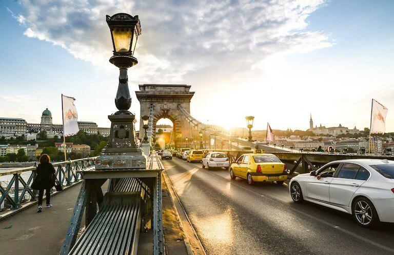 Städtereisen Budapest Kettenbrücke