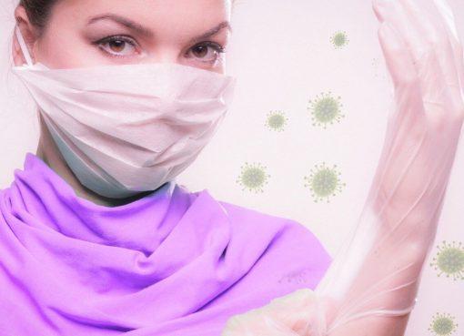 Atemschutzmasken statt Dessous der neue Textil Trend