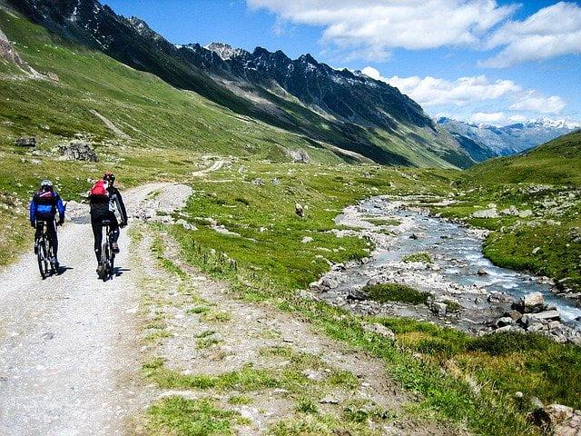 Urlaub 2020 in Deutschland Mountainbikes Alpen
