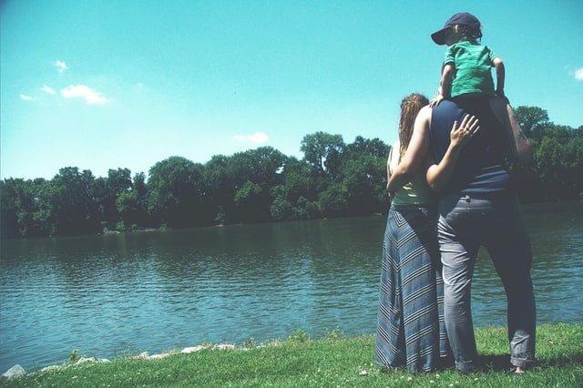 familien urlaub zu Hause 2020 Balkonien Sandkasthausen See