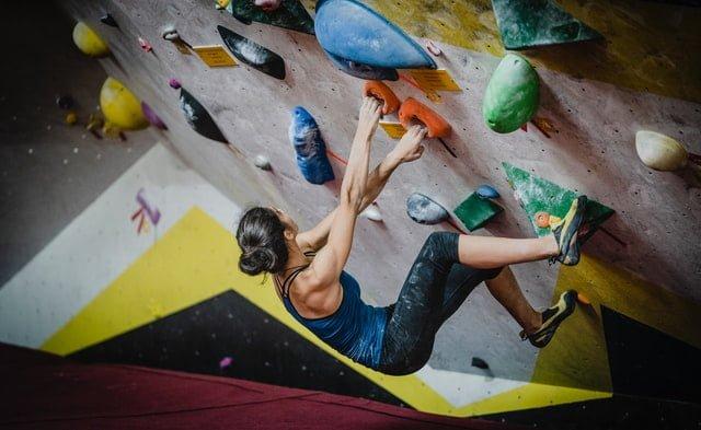 trend sportart klettern bei den olympischen spielen 2020
