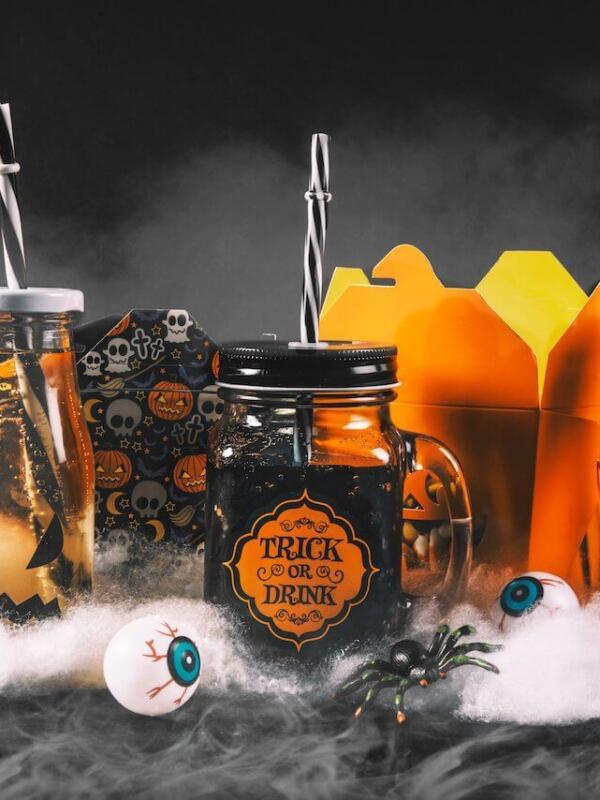 Halloween Getränke für Kinderparty – 10 Rezepte und Ideen