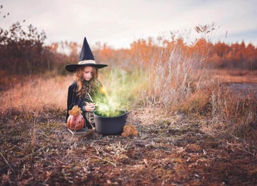 Halloween Schminke einfach selber machen