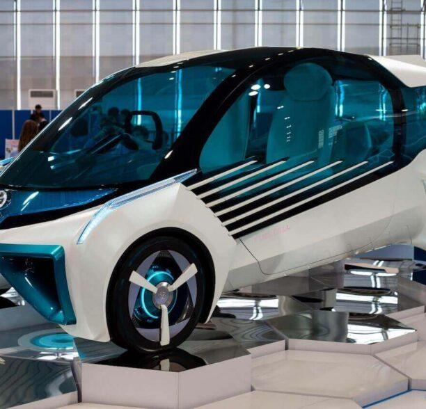 Wasserstoff Auto Toyota