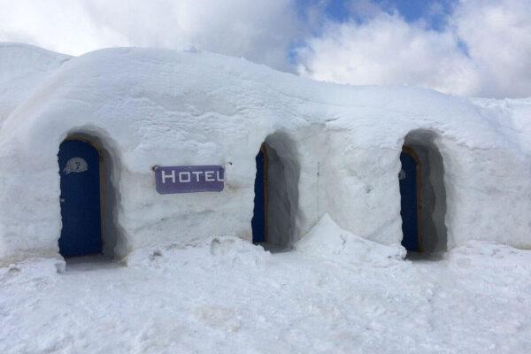 Abenteuerhotel Iglu