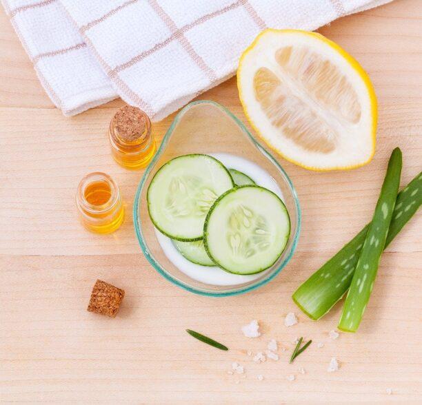 Natürliche Hautpflege